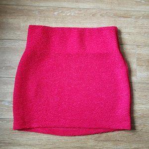BCBGeneration Textured Mini Skirt